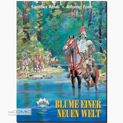 Blume einer neuen Welt HISTORIEN Ritter Comic ABENTEUER Alfonso Font ERKO NEU