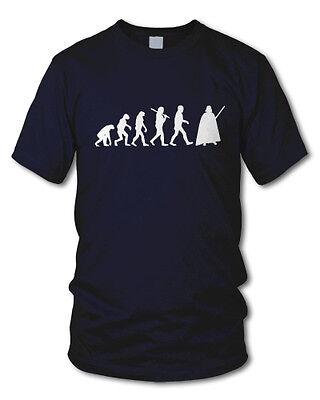 EVOLUTION DARTH VADER - Kult - Fun T-Shirt - Star Wars