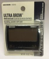 Maybelline Ultra Brow Brush-on Color ( Dark Brown ) Original Formula Carded.