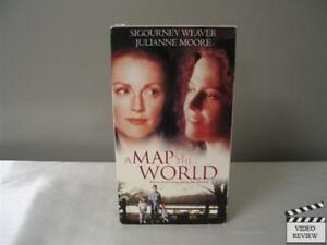 Details about A Map of the World (VHS, 2000) Sigourney Weaver Julianne on huge wall maps of the world, sigourney weaver deal of the century, sigourney weaver the tv set, julianne moore movie a map of the world,