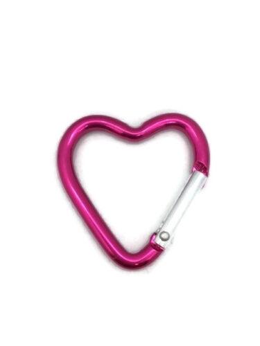 Matériel Mousqueton Amour Petit Coeur Porte-Clés Extérieur Pink Rose Amour