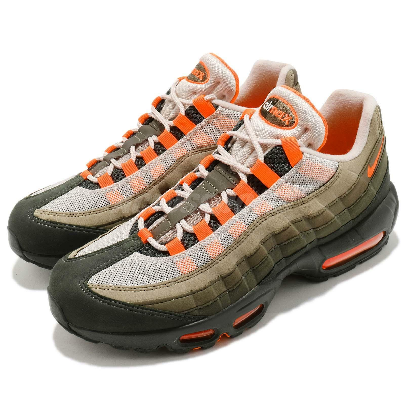 Nike Air Max 95 OG String Green Total Orange Neutral Olive NSW Chaussures AT2865-200