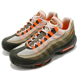 huge selection of 4f723 e2759 Details about Nike Air Max 95 OG String Green Total Orange Neutral Olive  NSW Shoes AT2865-200