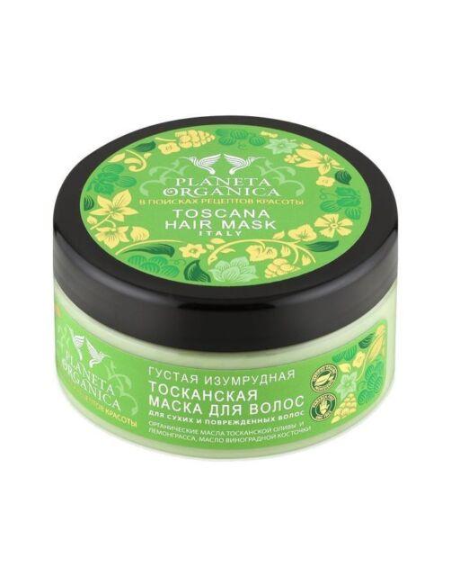 Planeta Organica Toscana Hair Mask For Dry And Damaged Hair 300ml UK Stock!
