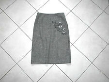 jupe tweed laine BCBG Max Azria Taille 38 6 US wool skirt