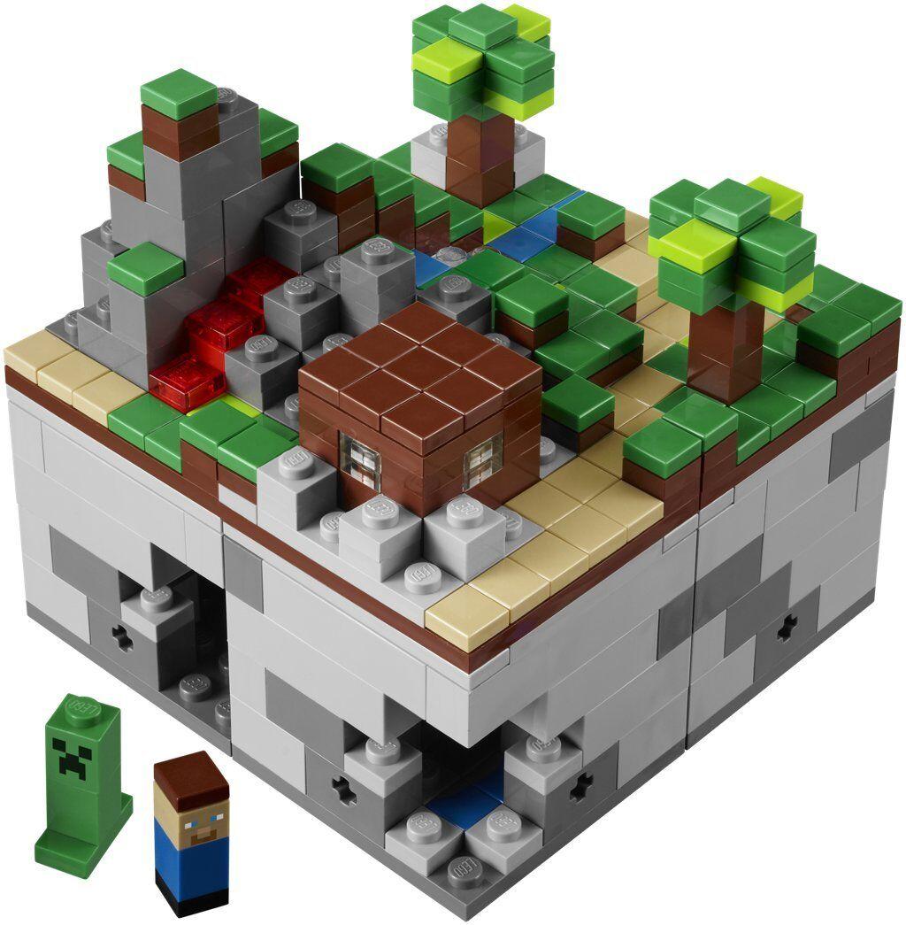 LEGO 21102 Minecraft Minecraft Minecraft Micro World - The Forest - Ideas Cuusoo Wald Steve Creeper e460e7