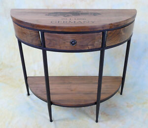 Konsolentisch-Konsole-Beistelltisch-Wandkonsole-Ablage-Tisch-E16019-b