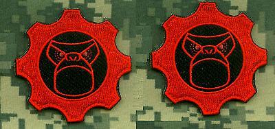 KANDAHAR WHACKER ISAF ODA SAS JTF2 KSK SP OPS 2-TAB SSI: Trunk Monkey War Gears