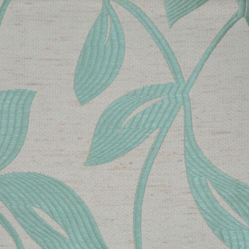 """Fabric Shower Curtain Blue Leaf Design 72/"""" x 72/"""""""