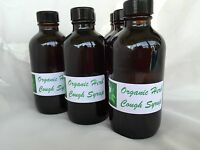 Organic Cough Syrup Flue/cough/mucus/irritated Throat
