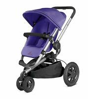 Quinny 2014 Buzz Xtra 3 Wheel Stroller In Purple Pace Brand