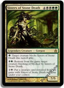 English Guilds of Ravnica Guild Kit MTG Magic 1x Sisters of Stone Death NM-Mint