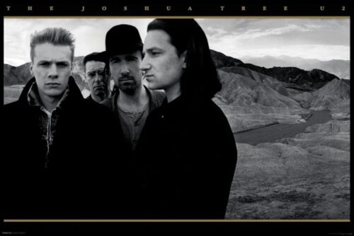 JOSHUA TREE POSTER 24x36 U2 BAND MUSIC 48539