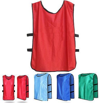 Team Sports Soccer Football Training Pinnies Jerseys Scrimmage Training Bib Vest