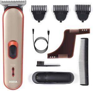 Rozia barba trimmer e tosatrici da Uomo Cordless Capelli Trimmer Rasoio elettrico