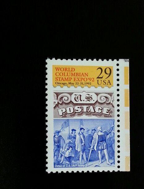 1992 29c World Columbian Stamp Expo, Chicago Scott 2616