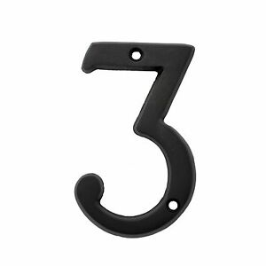 Image Is Loading 3 Inch Dark Oil Rubbed House Numbers