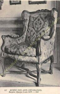 Postcard-Arts-Decorative-Furniture-Bergere-Period-Louis-XIV-Edit-ND-117