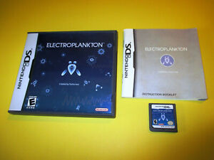 Electroplankton-Nintendo-DS-Lite-DSi-XL-3DS-2DS-Game-w-Case-amp-Manual