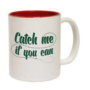 Funny Mugs Drowning Worms Id Rather Be Fishing Fish Fishing Fisher MAGIC MUG