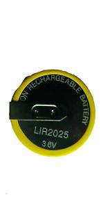 Mini Coche Llavero Panasonic VL2020 Recargable Batería /& nuevo caso de Shell remoto
