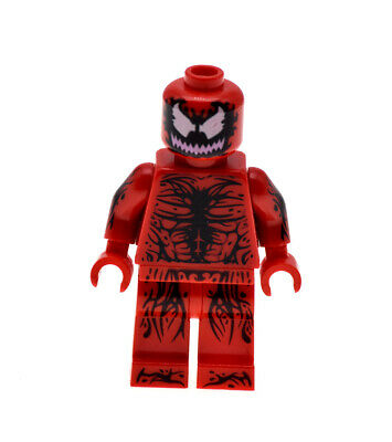 authentic LEGO minifigure Carnage Spider Man Marvel Super Heroes sh187 76036