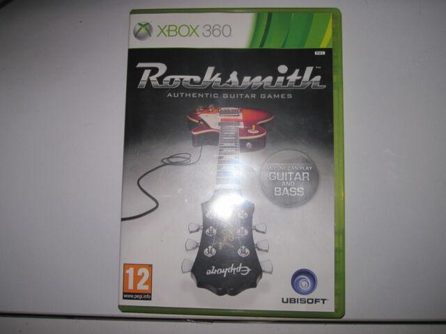 Rocksmith (Microsoft Xbox 360, 2012) - GAME ONLY