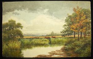 Paysage De Sologne Par Marie Fresney Touvenaint Dessin Orioginal à L'aquarelle M4kdhdx1-10103234-664814582