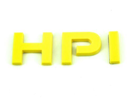 Genuino Nuevo Iveco Hpi insignia de la puerta trasera amarillo emblema diario Turbo Van Diesel