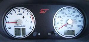 Lockwood Ford Fiesta Mk6 ST 2002-2008 WHITE (ST) Dial Kit 45L