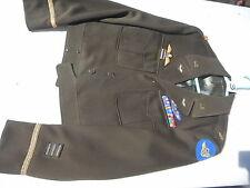 WW2 USAF/RAF 8Th Air Force Ike Jacket Size MFG Beker Uniform CO