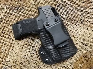 GUNNER's CUSTOM HOLSTERS IWB fits SIG SAUER P365 with Lima365 laser