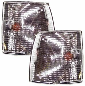 2 X Ámbar luces indicadoras para MGA 1500 1600 Mk1 1955-60 53227 594 reemplazar Lucas