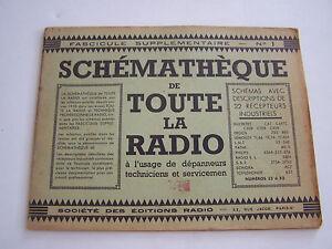 Schematheque De Toute La Radio , Schemas Recepteurs Pour Depanneurs . Eo N° 1 Ztccxq5q-08000016-555461741