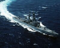 8x10 Photo: Uss Virginia (cgn-38), Guided Missile Cruiser Ship - 1991
