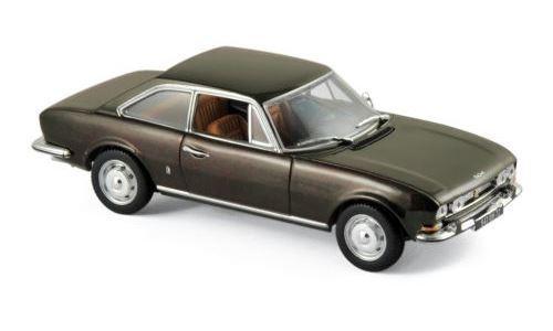 NOREV 475433 - Peugeot 504 Coupé Coupé Coupé - 1969 - Marrón metallic  1 43 0376d3