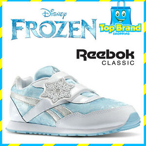 KIDS SHOES Reebok Disney Frozen ELSA RUNNERS GIRLS SHOE SIZE ...