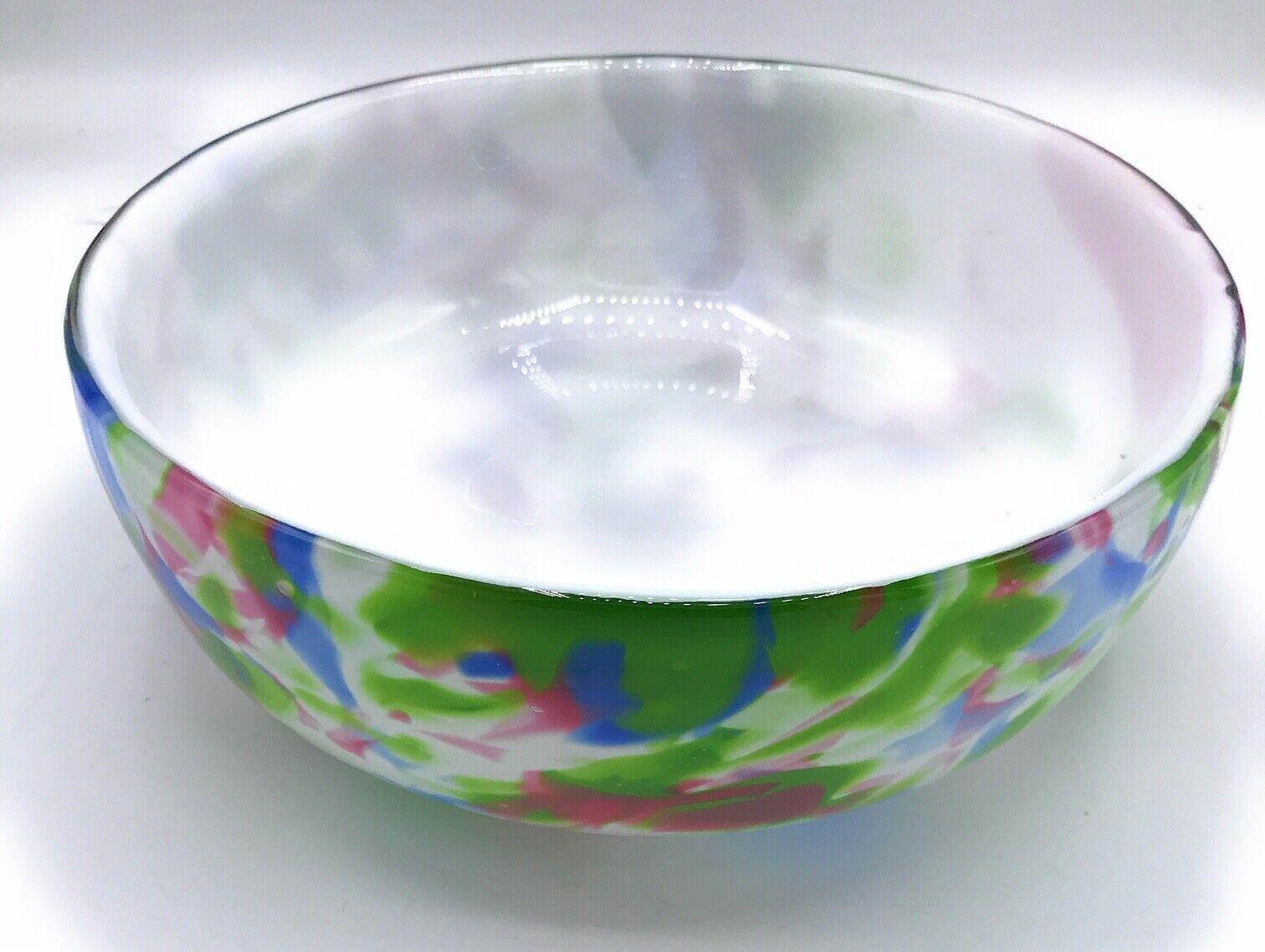 Fidrio Glasschale Alano  Tischschale Obstschale pastell Schale 22 cm 54306