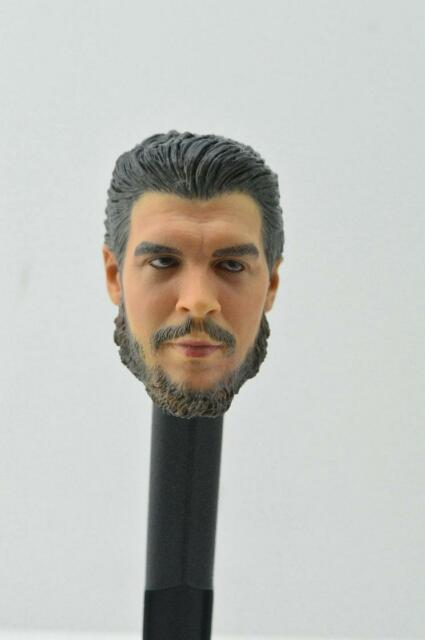 Custom Che Guevara 1//6 Head Sculpt fit hot toys Muscular Body