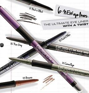 Gosh-L-039-ULTIME-EYE-LINER-Avec-Twist-estompeur-et-taille-crayon-etanche
