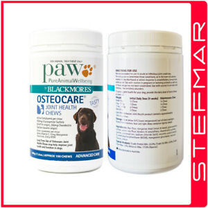 PAW-by-Blackmores-Osteo-Care-Dog-Pet-100-Chews-500g-Improve-Joint-amp-Health