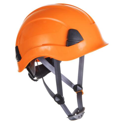 ORANGE Arrampicata Casco Elmetto di sicurezza altezza Rescue discesa in corda doppia Petzl Stile