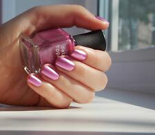 NEW! Deborah Lippmann 12TH STREET RAG Nail Polish ~Metallic Magenta Pink Marquee