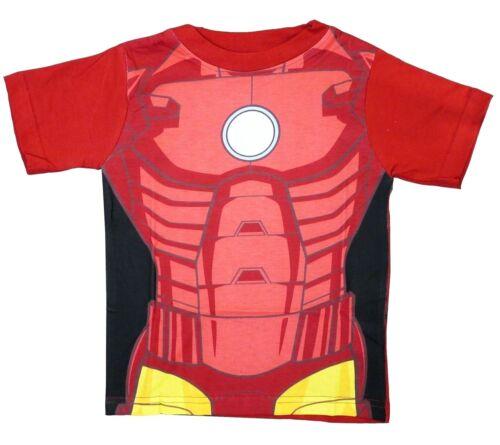 IRONMAN IRON MAN T SHIRT bambini 2-3yrs Marvel Avengers Nuovo Ufficiale