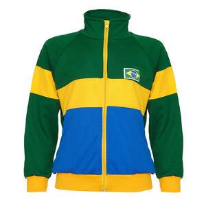 FleißIg Capoeira Grün Blau Gelb Mit Reißverschluss Kinder Jacke Brasilien Trainingsanzug