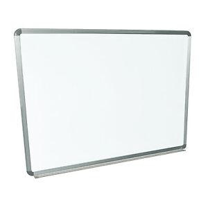 Luxor 48x36 Wall Mounted Whiteboard Wb4836w White Board 1