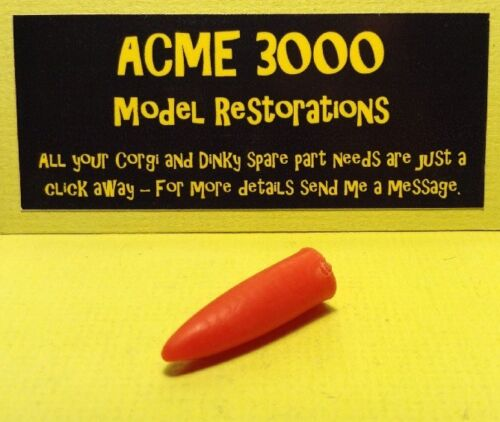 Corgi 350 Thunderbird Missile Replacement Repro Red Rubber Nose Cone See Pics