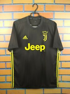 big sale 0a8e4 ae4eb Details about Juventus parley jersey large 2018 2019 third shirt DP0455  soccer football Adidas