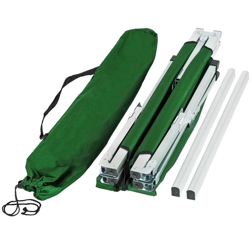 2 Feltsenge i aluminium grøn