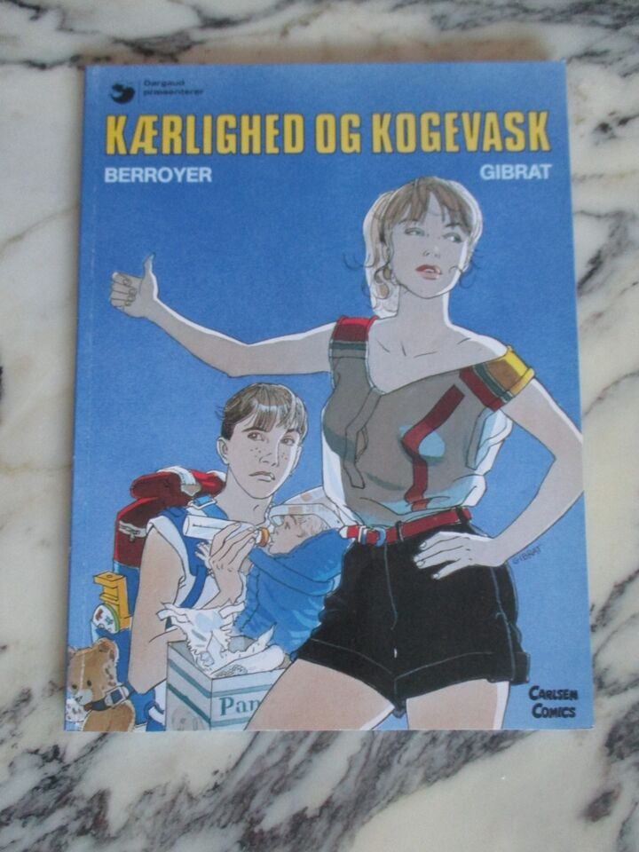 Tegneserier, David og Valerie 2: Kærlighed og kogevask